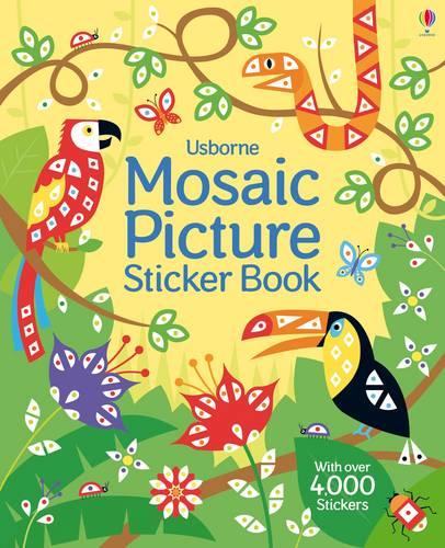 Mosaic Picture Sticker Book - Mosaic Sticker Books (Paperback)