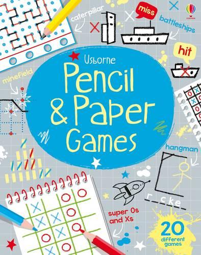 Pencil & Paper Games - Tear-off Pads (Paperback)