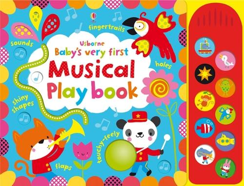 Baby's Very First Touchy-Feely Musical Playbook - Baby's Very First (Board book)
