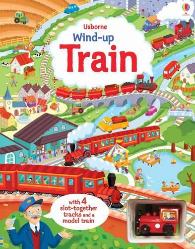 Wind-Up Train - Wind-up Books (Board book)