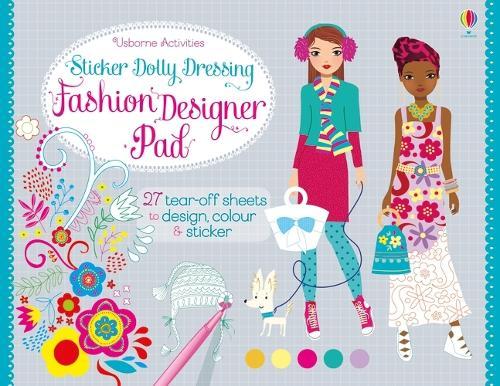 Sticker Dolly Dressing Fashion Designer Pad - Sticker Dolly Dressing Fashion Designer (Paperback)