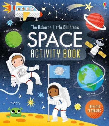 Little Children's Space Activity Book (Paperback)