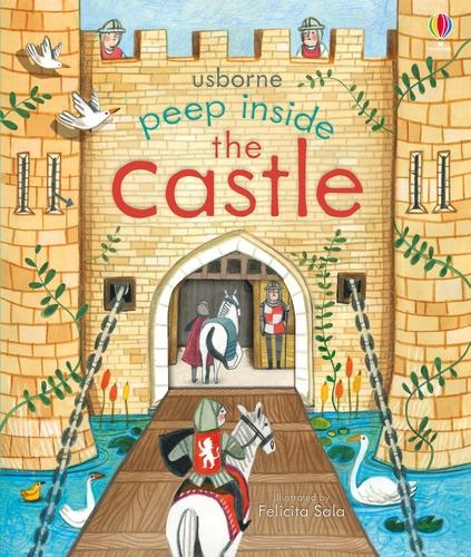 Peep Inside a Castle - Peep Inside (Board book)