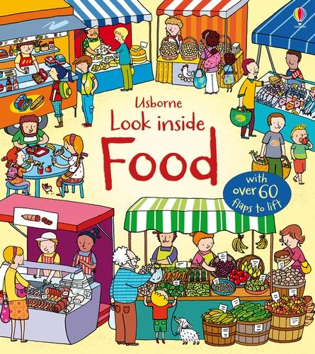 Look Inside Food - Look Inside Board Books (Board book)
