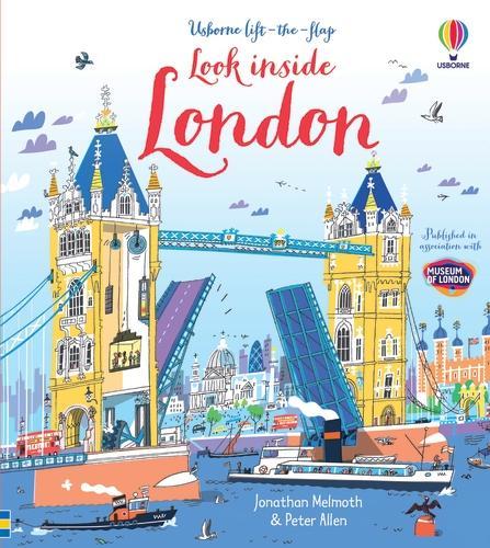 Look Inside London - Look Inside Board Books (Hardback)