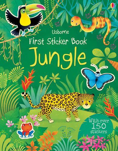 First Sticker Book Jungle - First Sticker Books (Paperback)