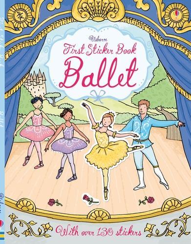 First Sticker Book Ballet - First Sticker Books series (Paperback)