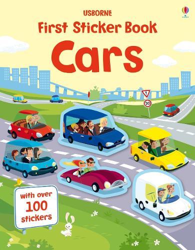 First Sticker Book Cars - First Sticker Books series (Paperback)