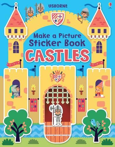 Make a Picture Sticker Book Castles (Paperback)