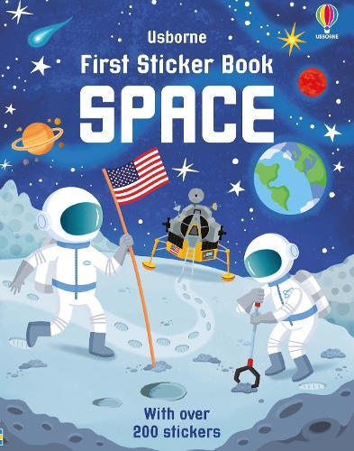 First Sticker Book Space - First Sticker Books series (Paperback)