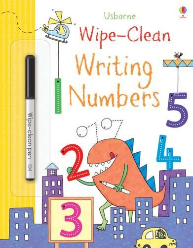 Wipe-Clean Writing Numbers - Wipe-clean Books (Paperback)