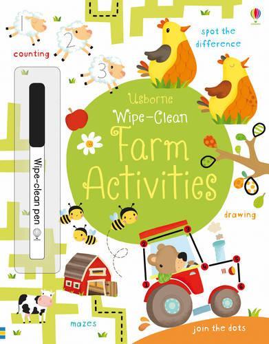 Wipe-Clean Farm Activities - Wipe-clean Books (Paperback)