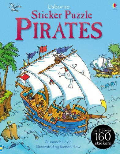 Sticker Puzzle Pirates - Sticker Puzzles (Paperback)