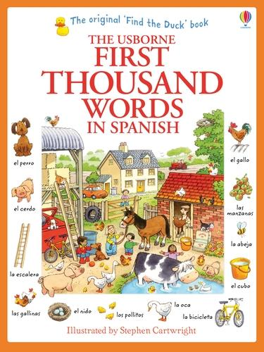 First Thousand Words in Spanish - First Thousand Words (Paperback)