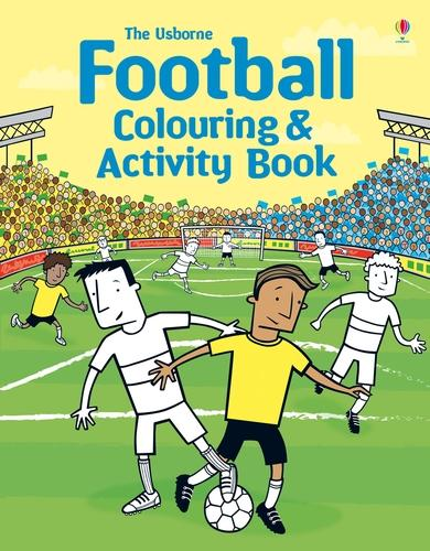 Football Colouring and Activity Book - Colouring Books (Paperback)