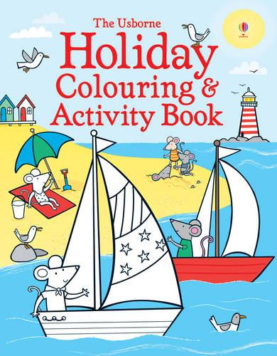 Holiday Colouring and Activity Book - Colouring Books (Paperback)