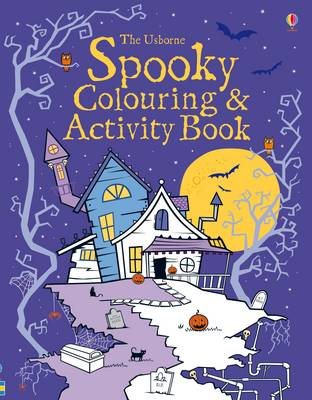 Spooky Colouring and Activity Book - Colouring Books (Paperback)