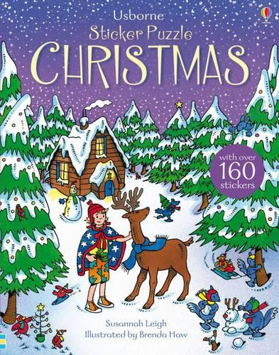 Sticker Puzzle Christmas - Sticker Puzzles (Paperback)