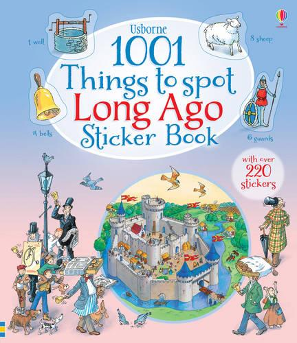 1001 Things to Spot Long Ago Sticker Book - 1001 Things (Paperback)