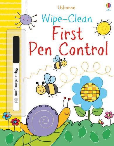 Wipe-clean First Pen Control - Wipe-clean Books (Paperback)