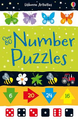 Number Puzzles - Activity and Puzzle Books (Paperback)