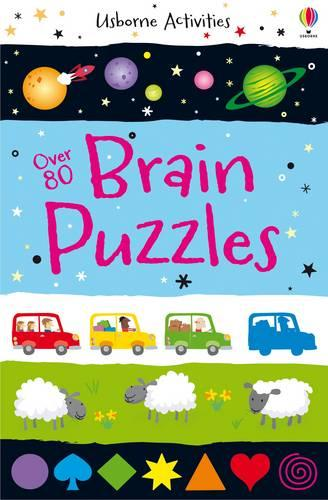 Brain Puzzles - Activity and Puzzle Books (Paperback)