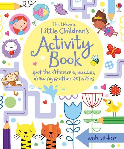 Little Children's Activity Book (Paperback)