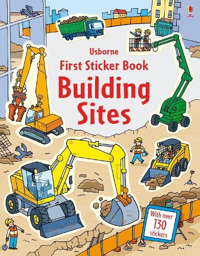 First Sticker Book Building Sites - First Sticker Books series (Paperback)