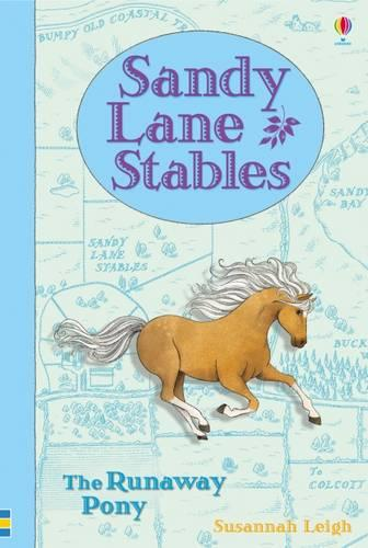 Sandy Lane Stables - The Runaway Pony - Young Reading Plus (Hardback)