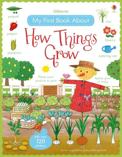 My First Book About How Things Grow Sticker Book - My First Books (Paperback)
