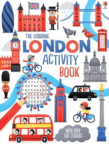 London Activity Book (Paperback)