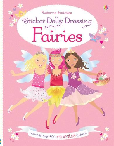 Sticker Dolly Dressing Fairies - Sticker Dolly Dressing (Paperback)