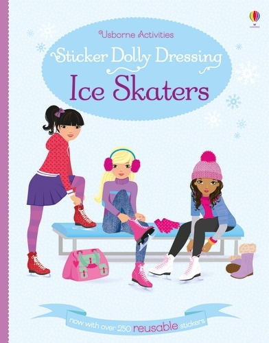 Sticker Dolly Dressing Ice Skaters