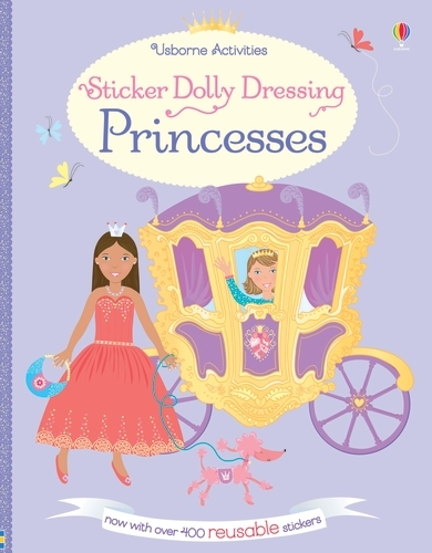 Sticker Dolly Dressing Princesses - Sticker Dolly Dressing (Paperback)