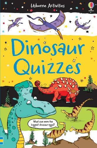 Dinosaur Quizzes - Activity and Puzzle Books (Paperback)