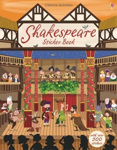 Shakespeare Sticker Book (Paperback)