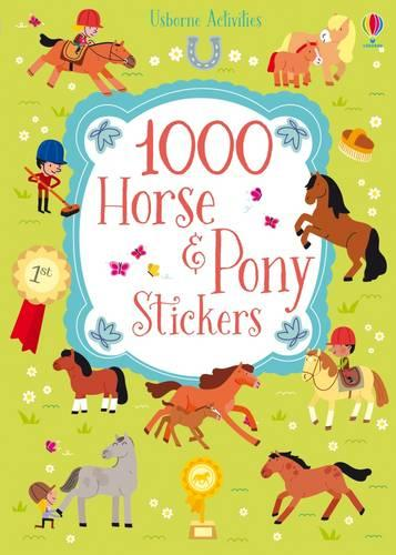 1000 Horse and Pony Stickers - 1000 Stickers (Paperback)