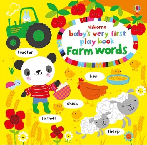 Baby's Very First Play Book Farm Words - Baby's Very First (Board book)