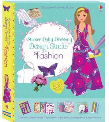 Sticker Dolly Dressing Design Studio Fashion - Sticker Dolly Dressing