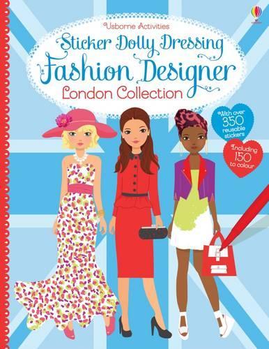 Sticker Dolly Dressing Fashion Designer London Collection - Sticker Dolly Dressing Fashion Designer (Paperback)