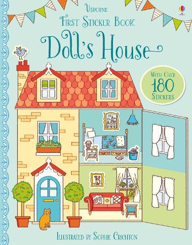 First Sticker Book Doll's House - First Sticker Books (Paperback)