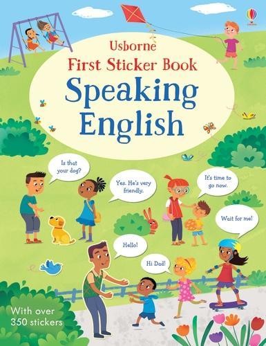 First Sticker Book Speaking English - First Sticker Books (Paperback)