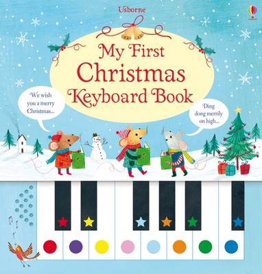 My First Christmas Keyboard Book (Spiral bound)