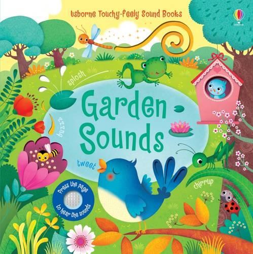 Garden Sounds - Usborne Sound Books (Board book)