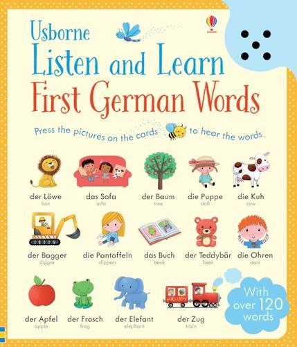 Listen and Learn First Words in German - Listen and Learn (Board book)