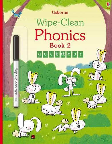 Wipe-Clean Phonics Book 2 - Wipe-clean Books (Paperback)