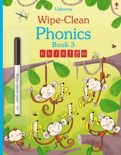 Wipe-Clean Phonics Book 3 - Wipe-clean Books (Paperback)