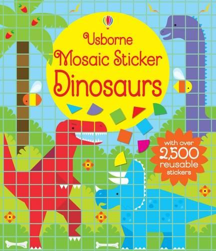 Mosaic Sticker Dinosaurs - Mosaic Sticker Books (Paperback)