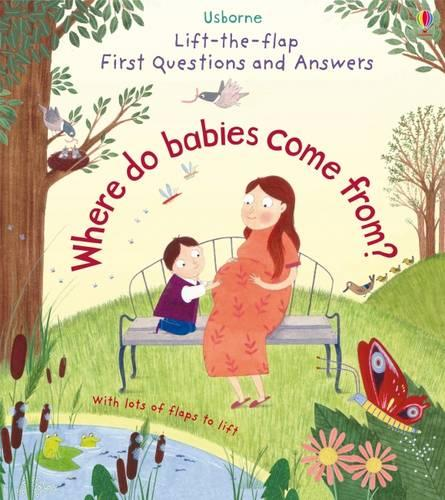 Where Do Babies Come From? - Lift the Flap First Questions and Answers (Board book)