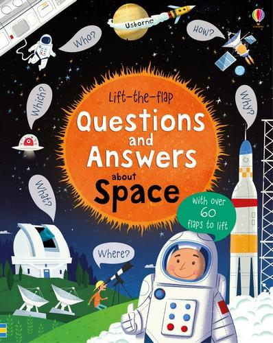 Lift-The-Flap Questions and Answers About Space - Lift the Flap Questions and Answers (Board book)